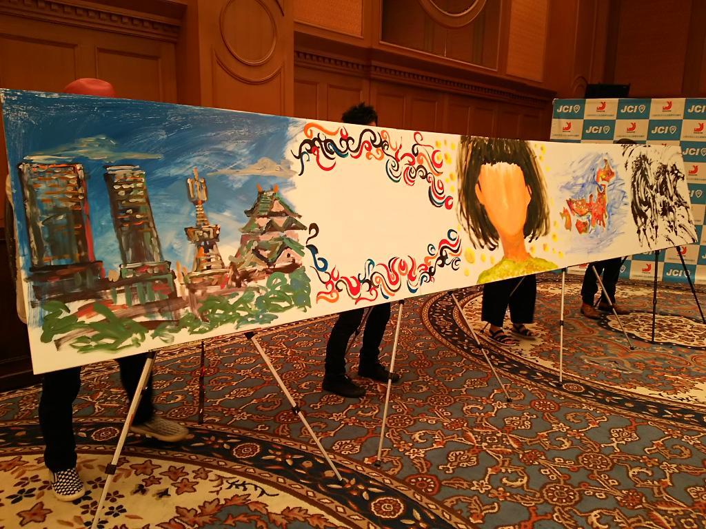 5人のアーティストが描いた絵