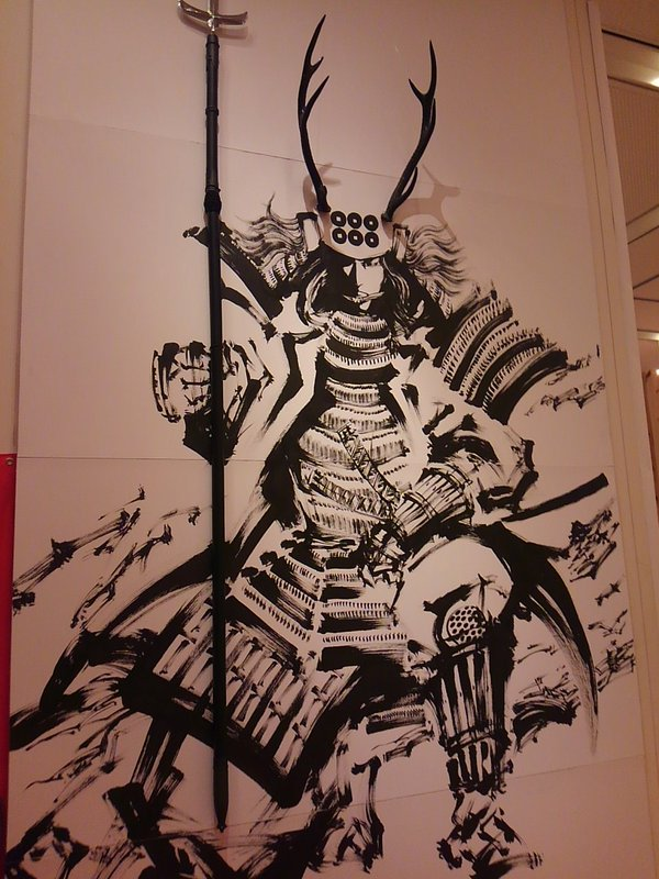 真田幸村の壁画