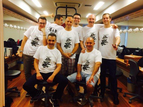 日本ツアー記念Tシャツ