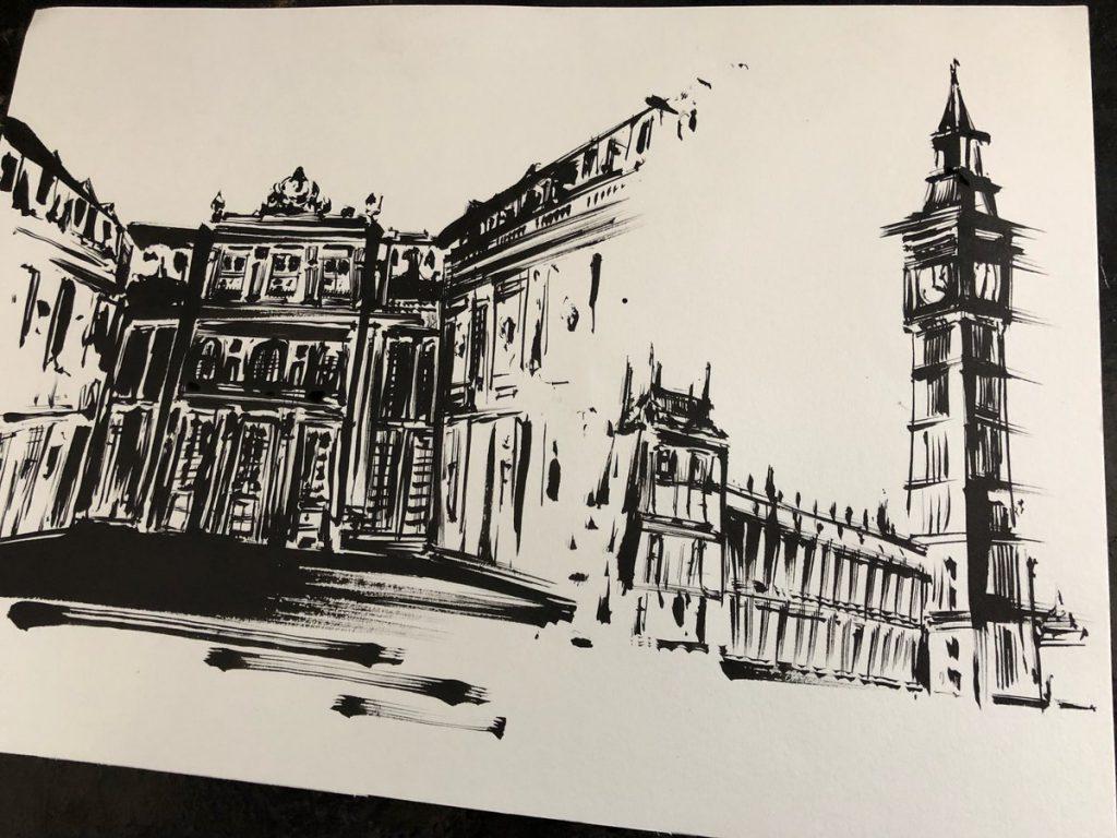 ヴェルサイユ宮殿とビッグベン