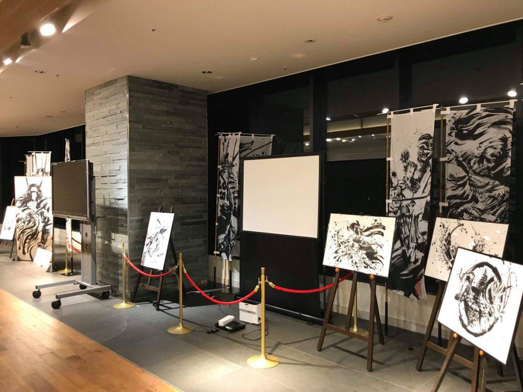 墨絵師『御歌頭』の世界展